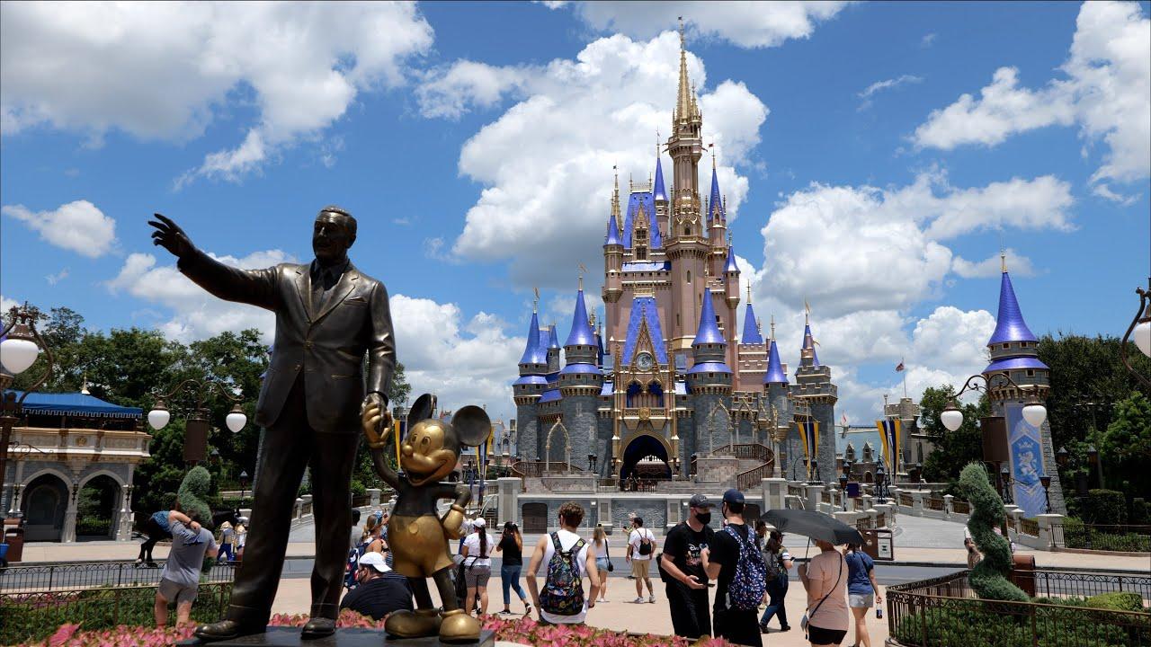 Magic Kingdom Full Tour In 5k Amazing Quality Walt Disney World Orlando Florida July 2020 Youtube