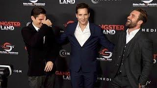 "Milo Gibson, Sean Faris, Peter Facinelli ""Gangster Land"" Premiere Red Carpet"