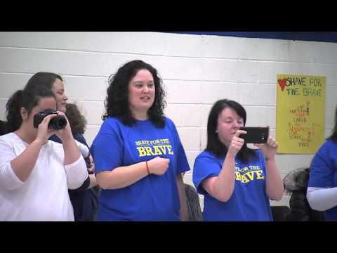 Shave for the Brave at W.H. Day Elementary School