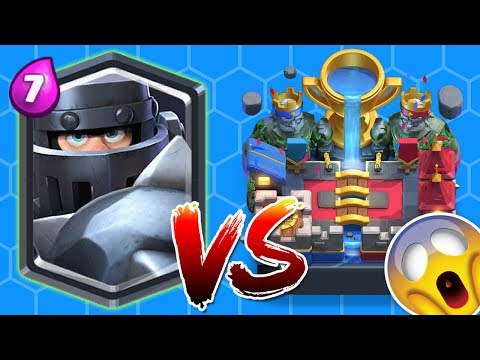 Clash Royale | Mega Knight Trolling Arena 11 WITH ALL NEW CARDS HD!!!!