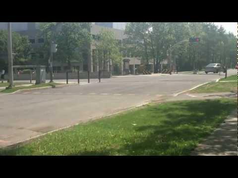 Campus de l'Université Laval en été