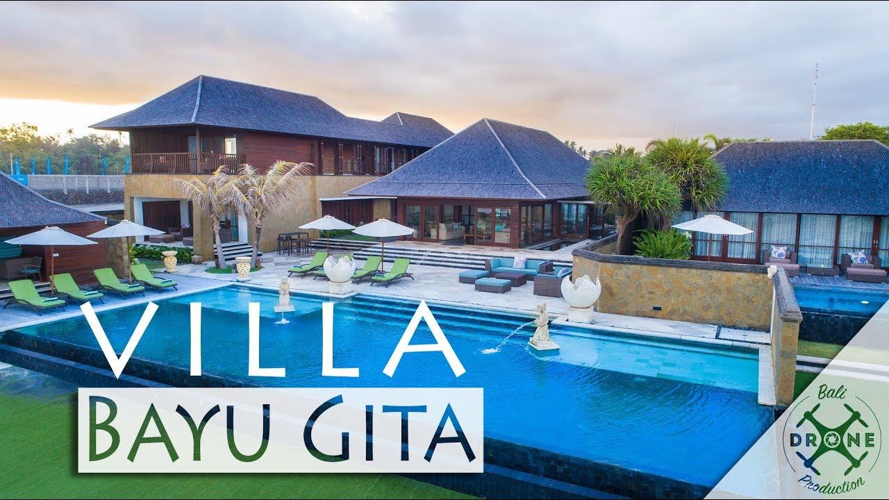 Villa Bayu Gita Pabean Beach Bali 4k Youtube