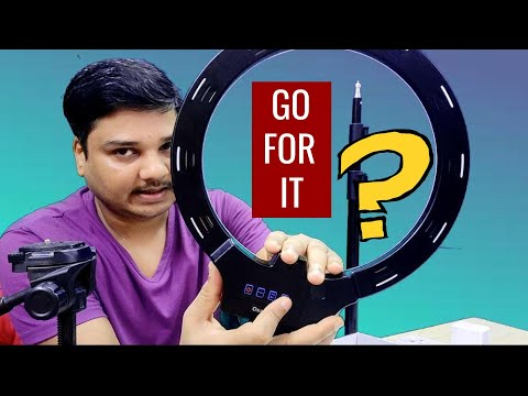 LED Ring Light for Photo and Video with stand | Best in Budget