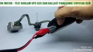BALLAST HID PANASONIC DAN BOHLAM HID D2S UPS