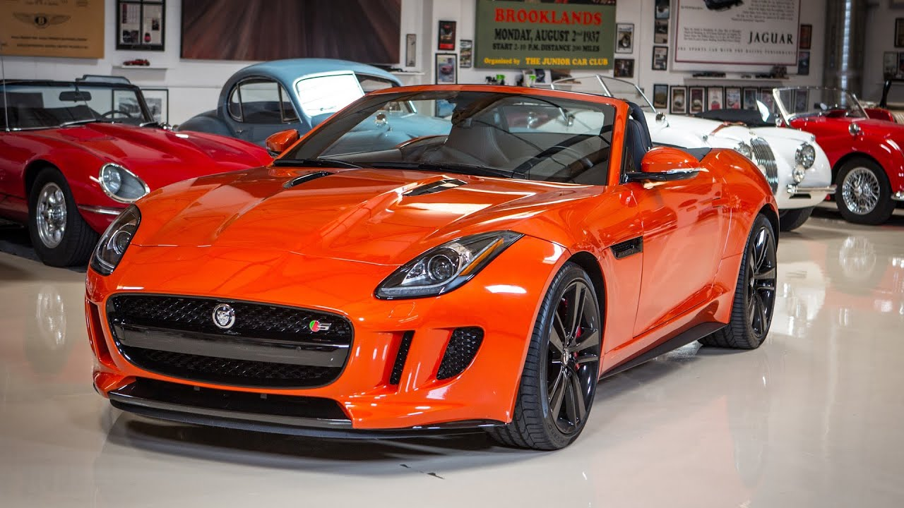 2014 jaguar f type v8 s jay leno 39 s garage youtube. Black Bedroom Furniture Sets. Home Design Ideas