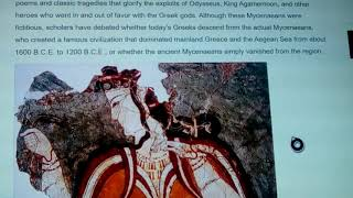 Greek & Minoan DNA: Near Mythical Origins 2019 New info