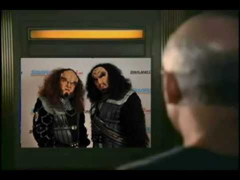 Martok and Gowron throwdown on Cpt. Picard