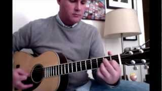 Words of Love - Buddy Holly/Beatles acoustic guitar cover
