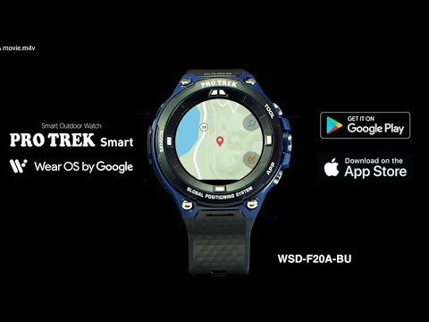 8ea907ba5646 PRO TREK Smart - WSD-F20A - YouTube
