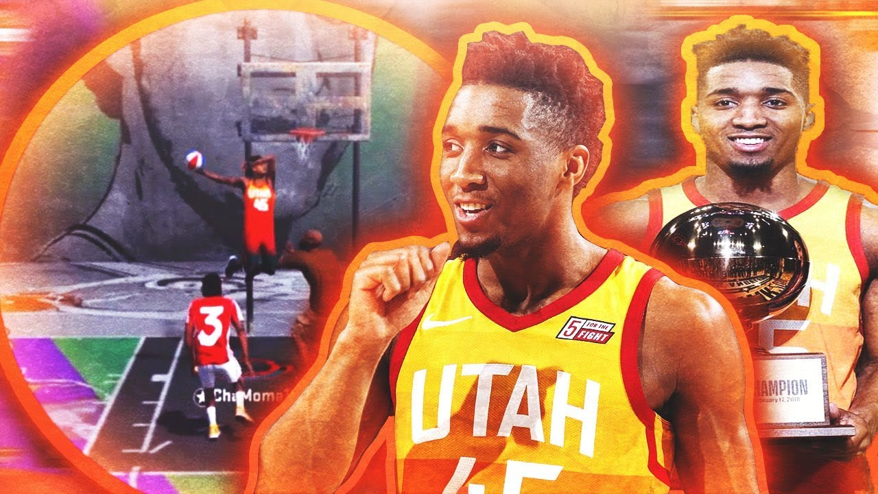 4f481bd335b DONOVAN MITCHELL ON NBA 2K18!!! NBA DUNK CONTEST WINNER TROLLS YOUTUBERS!!!   spidadmitchell