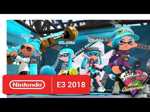 2018 Splatoon 2 World Championships - Opening Rounds - Round 3 - Nintendo E3 2018