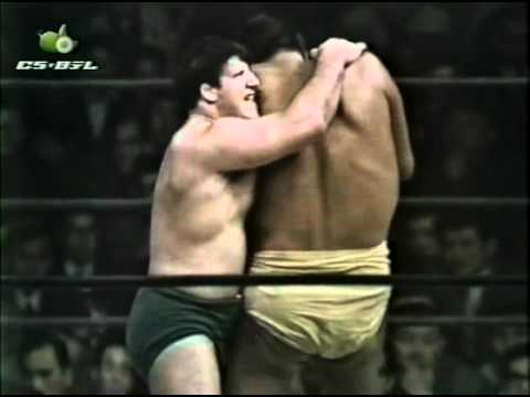 Giant Baba vs. Bruno Sammartino  JWA in Tokyo, Japan 07.03.1967