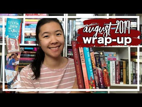 Wrap-Up: August 2019   14 Romance Books!