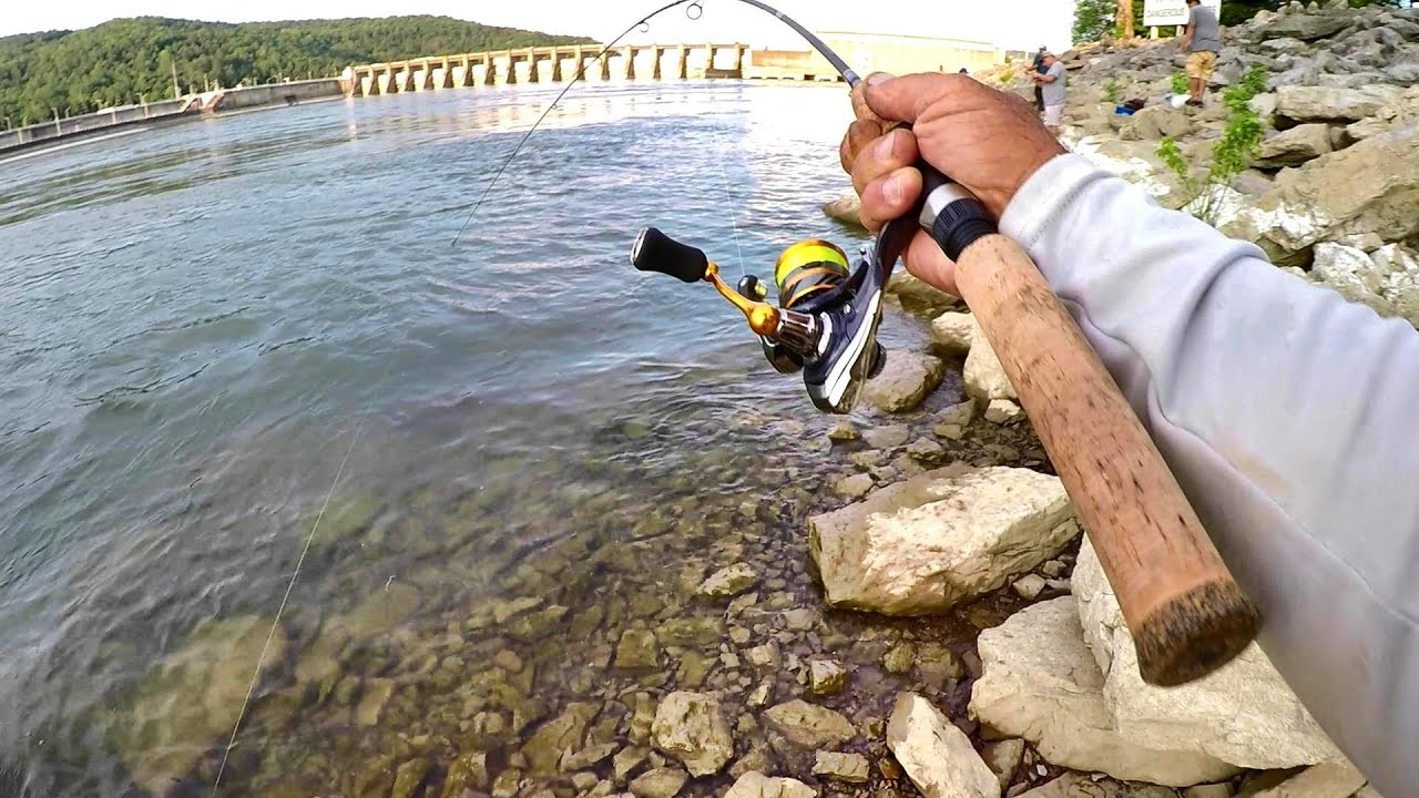 Jumping Rocks For BIG Bluegill! Catch Tons Of Bluegill With This Technique!!!