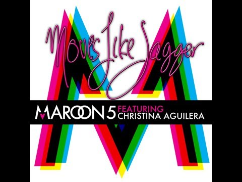 Moves Like Jagger (feat. Christina Aguilera) (Clean Radio Edit) (Audio) - Maroon 5