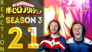 SOS Bros React - My Hero Academia Season 3 Episode 21 - Gang Orca Attacks!!