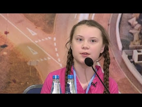"""Our Leaders Are Behaving Like Children"": Teen Climate Activist Confronts World Leaders"