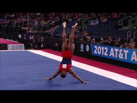 John Orozco - Floor Exercise - 2012 AT&T American Cup