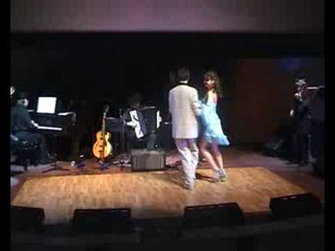 Nana and Lucho dance valse - Soledad orquestra