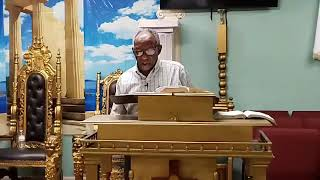 God is our safe place | Greater Palm Bay COG | Bible Study | Bishop J.R. Lewinson | 3.25.20