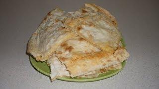 Домашние хачапури из лаваша с сыром и творогом