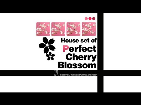 [Touhou] House set of Perfect Cherry Blossom ~ Ayakashi Set
