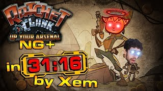 [World Record] Ratchet and Clank: Up Your Arsenal NG+ Speedrun in 31:16
