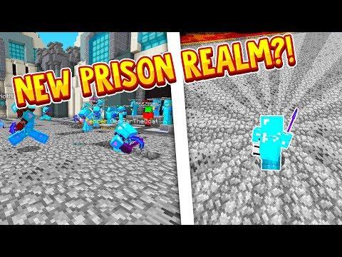 THEARCHON'S NEW PRISON REALM! | Minecraft Prison | Azkaban Realm | TheArchon [1]
