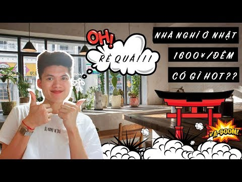 NHÀ NGHỈ 1600¥/ ĐÊM TẠI NHẬT CÓ GÌ? | NHÀ NGHỈ HIROSHIMA GUEST HOUSE AKICAFE INN | LOKI VŨ VLOG