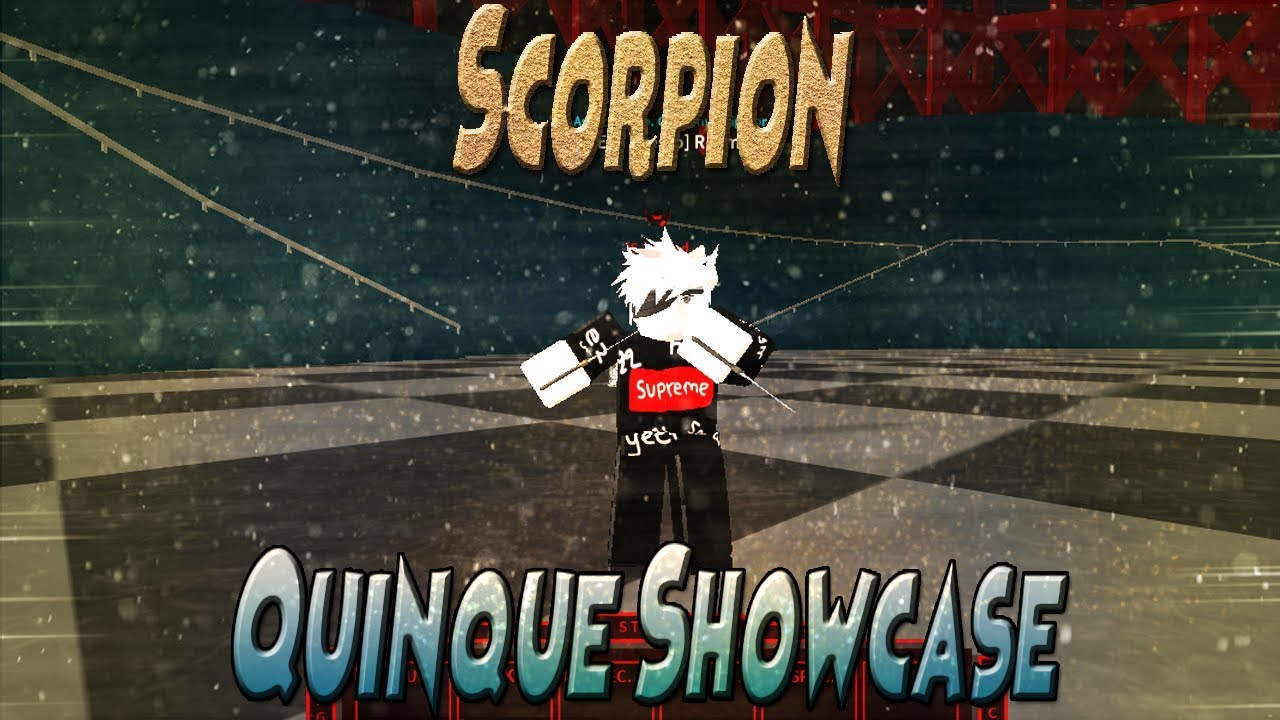 Ro Ghoul Scorpion Showcase