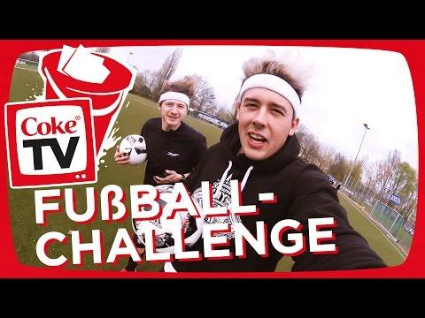 Fußball-FUN mit izzi und CrispyRob   #CokeTVBucketlist