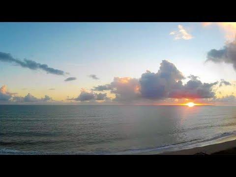 Florida Sunrise Beach Cam - Jensen Beach FL Ocean WebCam 11-6-2017