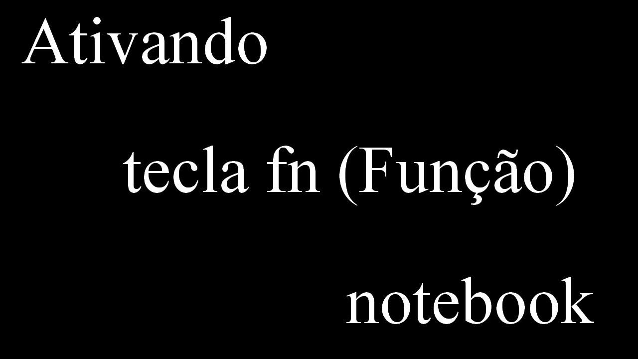 Notebook samsung desativar tecla fn - Habilitanto Tecla Fn Fun O Notebook Hp