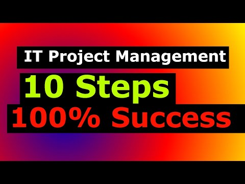10 Easy Steps of Project Management: Information Technology and Business Systems Analyst Job Prep