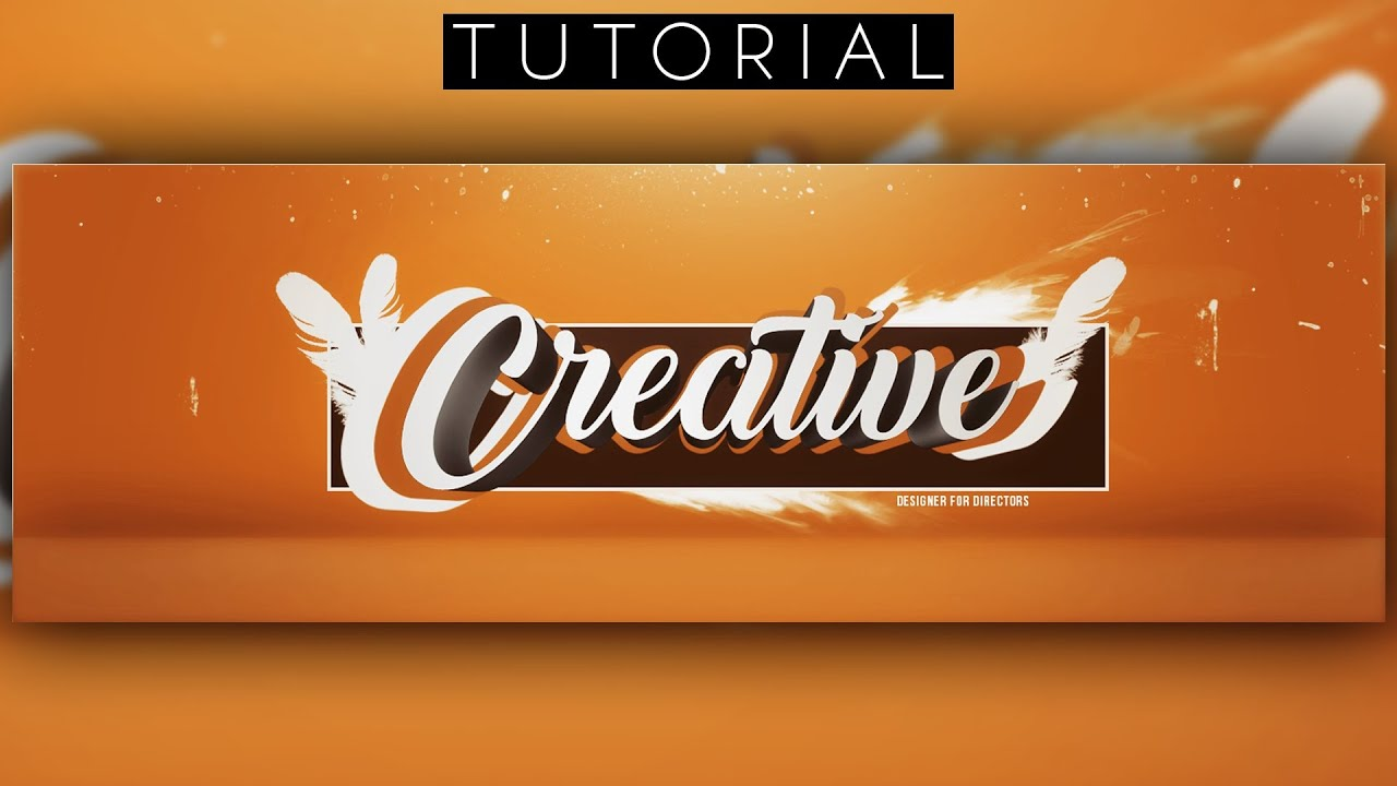 Clean 3d twitter header tutorial photoshop cc cinema 4d youtube clean 3d twitter header tutorial photoshop cc cinema 4d baditri Gallery