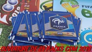 OUVERTURE DE 25 PACKS CDM 2018 - FIERS D'ÊTRE BLEUS !!