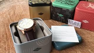 Reloj FOSSIL FS4991 - Grant Chronograph Brown Leather (Regaloj)