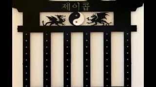 Martial Arts Belt Rack - Karate Belt Display - Video Slideshow