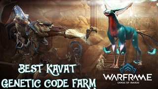 Warframe - Best Kavat Genetic Codes Farm (PS4-PC-Xbox)