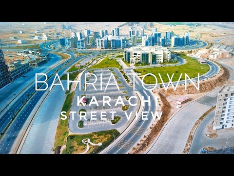 Bahria Town Karachi Street View (May 2021) - Expedition Pakistan