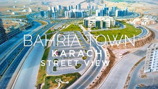 Bahria Town Karachi Street View (May 2021) - Exped...