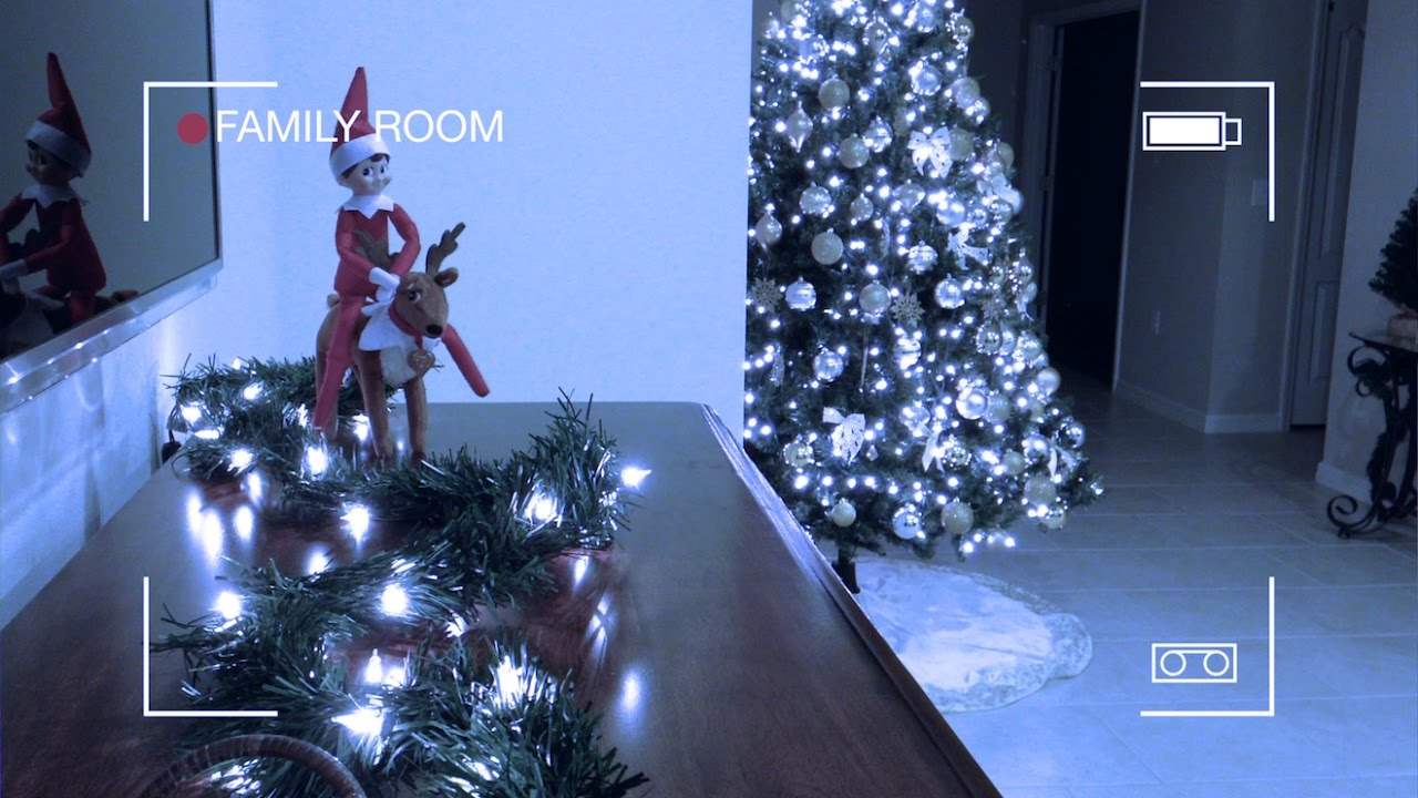 Elf On The Shelf Caught Moving Riding Elf Pets Reindeer