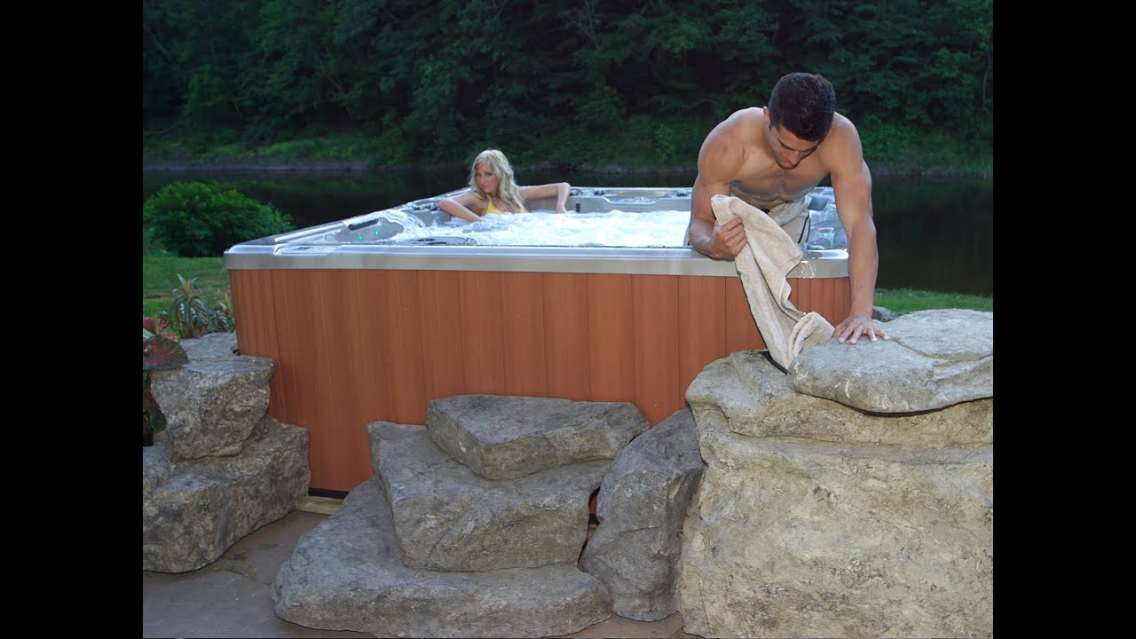 Omni Rocks Storage, Steps And Planters For Hot Tubs And Spas