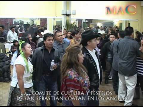 FIESTA DE SAN SEBASTIAN COATAN EN L.A. 2012
