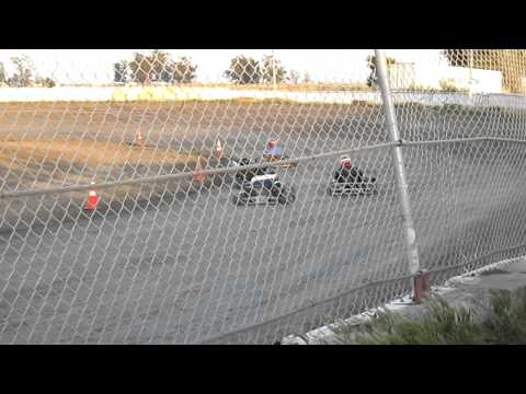 125 shifter kart crash @ CORA speedway