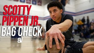 Scotty Pippen Jr Junior Season REVIEW! Son Of NBA Legend Next GREAT PG? | BAG CHECK