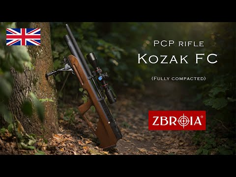 Kozak FC video review  Fully compacted PCP rifle by ZBROIA Company Ukraine