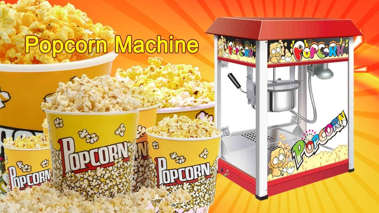Best Commercial Popcorn Machines For Home Theater Popper Maker Reviews