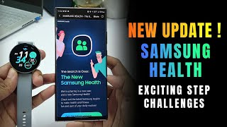 New Update for Samsung Health App with Exciting Step challenges ! & many visual changes screenshot 4