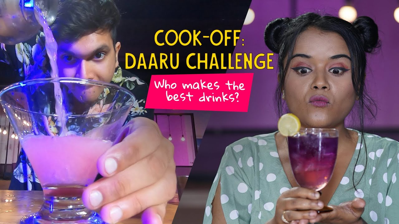 Cook Off: Daaru Challenge | Who Makes The Best  Drinks | Ok Tested
